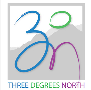 3 Degrees North